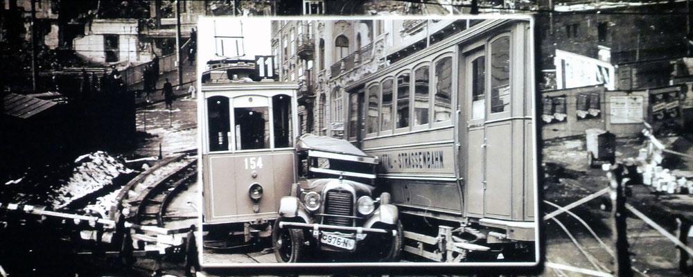 Film-Unfall: Tram, Auto