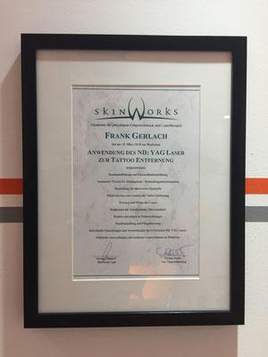 Zertifikat #1