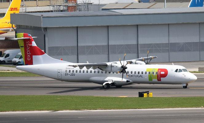 "ATR 72-212A (500) "" OY-JZU ""  TAP Express -3"