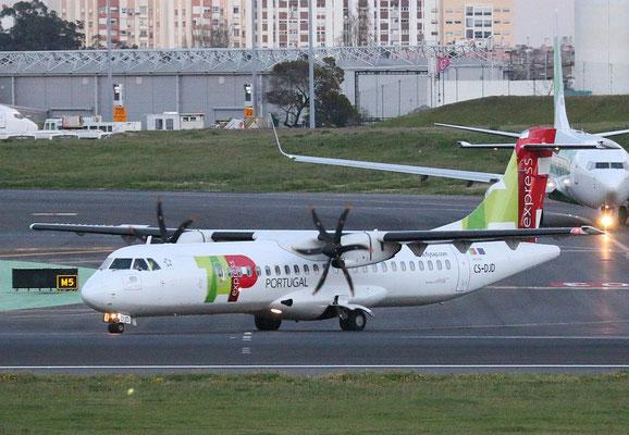 """ATR 72-212A (600) """" CS-DJD """"  TAP Express -2"""