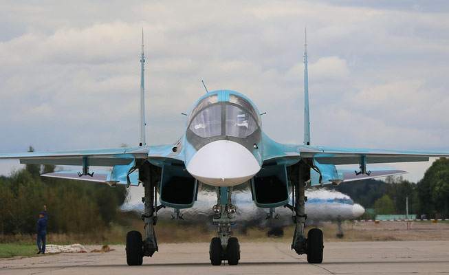 "SU 34 "" 15 ""  RF-95848   Russian Air Force -2"