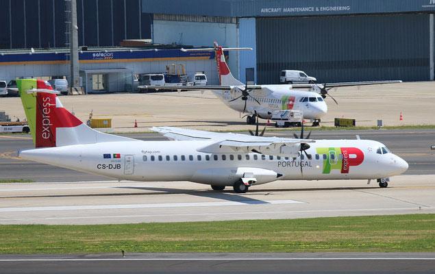 """ATR 72-212A (600) """" CS-DJB """"  TAP Express -3"""