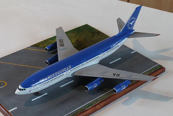 "IL 86 Transeuropean Airlines "" RA-86145 ""  Zvesda 1/144 5"