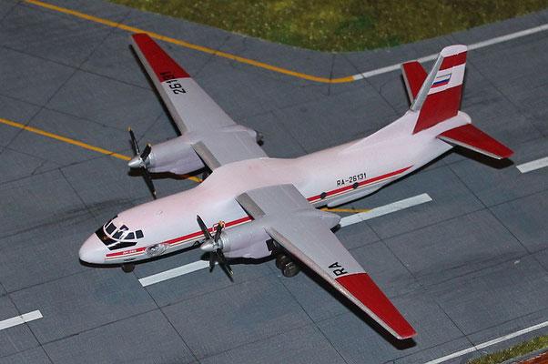"""AN 26B """" RA-26131 """" Aeroflot  Eastern Express  1/144-2"""