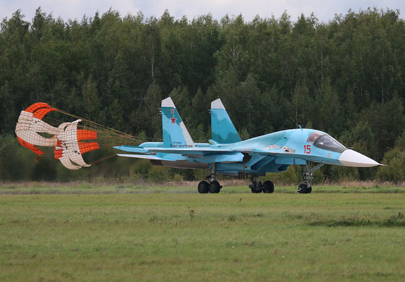 "SU 34 "" 15 ""  RF-95848   Russian Air Force -3"