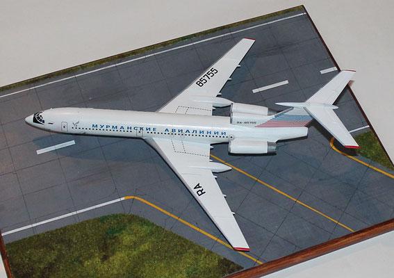 "TU 154M "" RA-85755 ""  Murmansk Airlines -3"