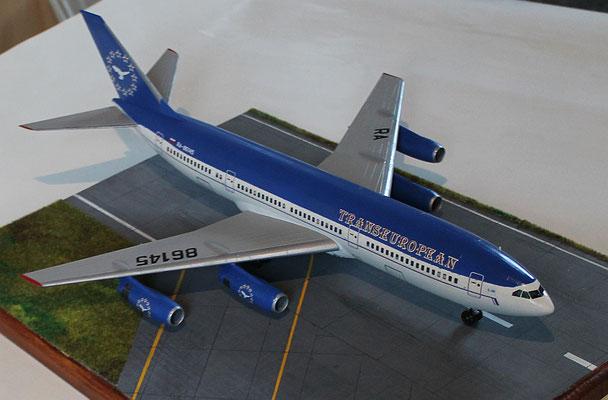"IL 86 Transeuropean Airlines "" RA-86145 ""  Zvesda 1/144 -6"