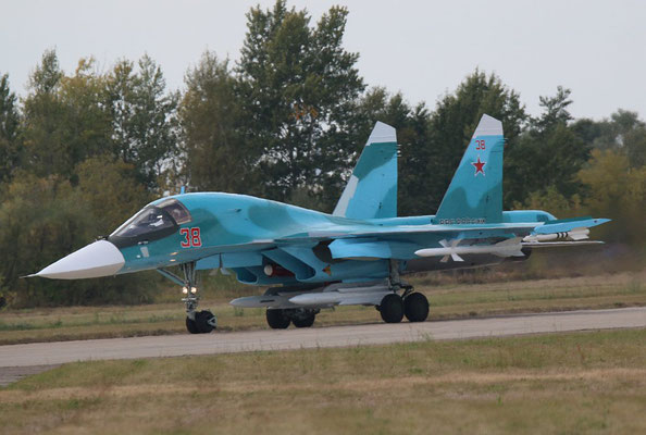"SU 34 "" 38 ""  Russian Air Force -5"