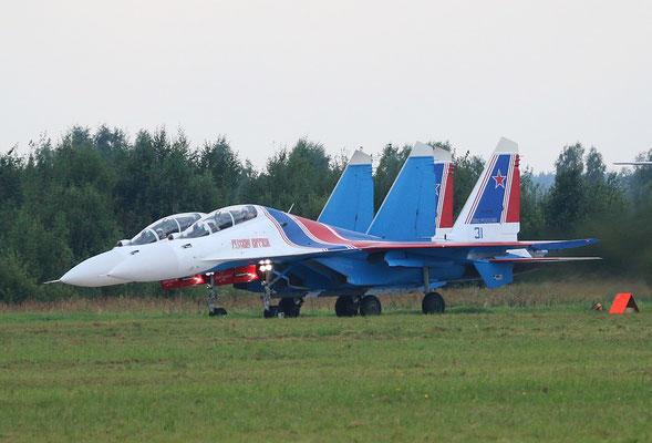 "SU 30SM "" 31 ""  RF-81702 Russian Air Force / Russian Knights -2"