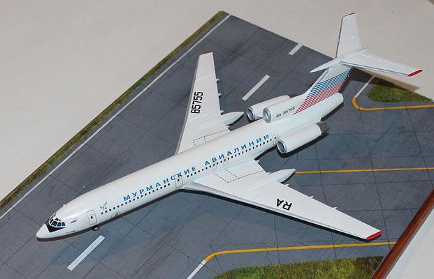 "TU 154M "" RA-85755 ""  Murmansk Airlines -2"