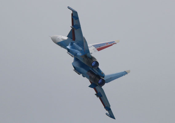 "SU 30SM "" 31 ""  RF-81702 Russian Air Force / Russian Knights -4"