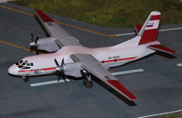 """AN 26B """" RA-26131 """" Aeroflot  Eastern Express  1/144-3"""