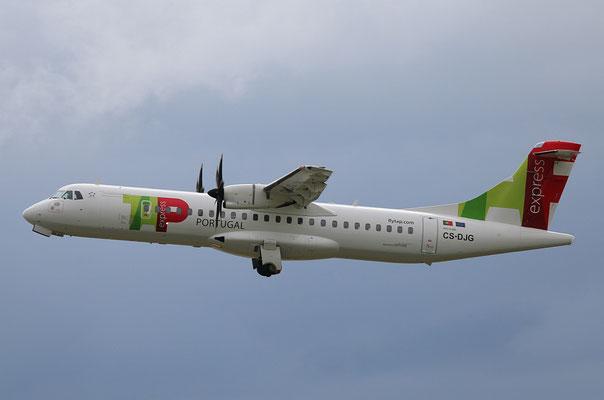 "ATR 72-212A (600) "" CS-DJG ""  TAP Express -3"