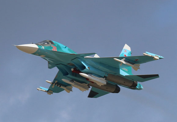 "SU 34 "" 38 ""  Russian Air Force -7"