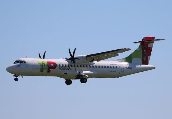 """ATR 72-212A (600) """" CS-DJB """"  TAP Express -2"""