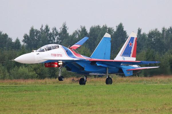 "SU 30SM "" 31 ""  RF-81702 Russian Air Force / Russian Knights -5"