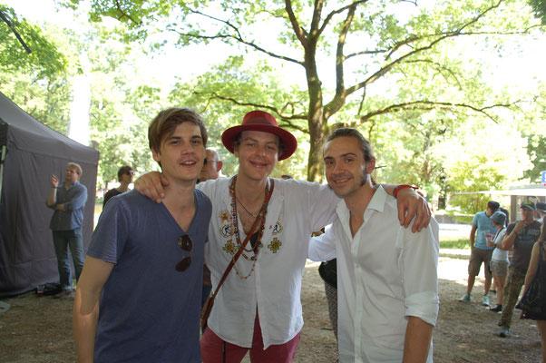 Brüder Nick und Carlo