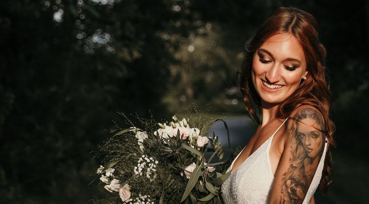 Hochzeit Norddeutschland  Hochzeitsfotograf Braut