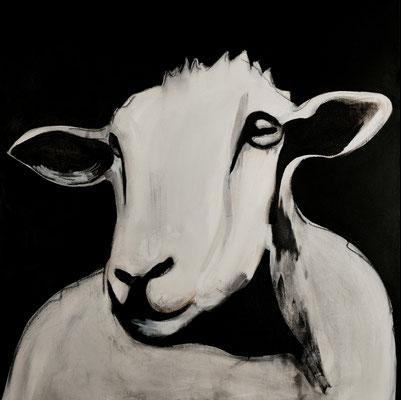 Freier Geist, 100 x100 cm, 2017