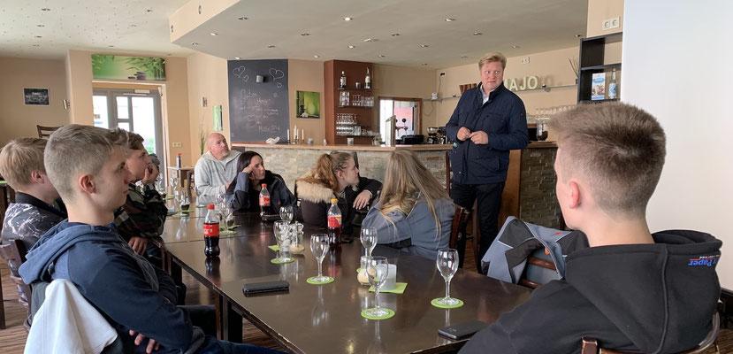 Engagiert sich für den Nachwuchs: Roger Staneczek (Geschäftsführer Artur Gevelhoff)