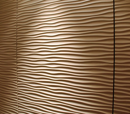 Relief Oberfläche Wave