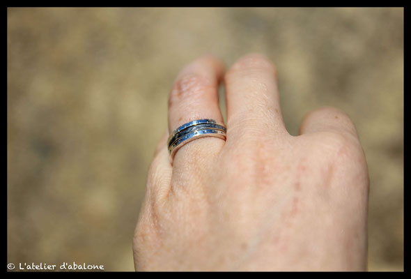 70. Bague empilable x3 oxy ,  Argent 925, 63 euros