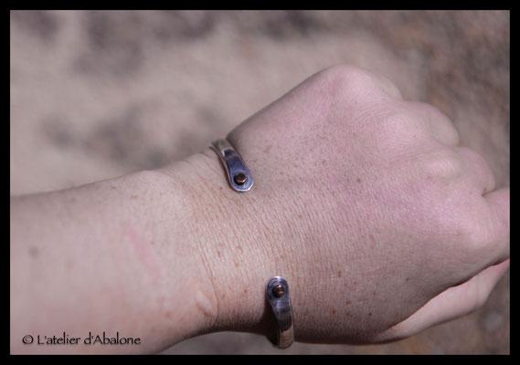 2. Bracelet point cuivre, Argent 925, 59 euros