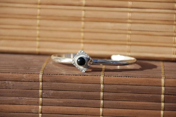 9.Bracelet Onix ronde, Argent 925, 53 euros
