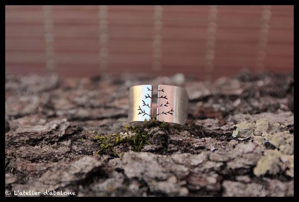 5.Bague Arbre , Argent 925, 59 euros.