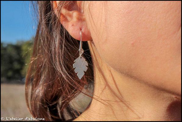 47.Boucle d'oreille , Argent 925, 34 euros