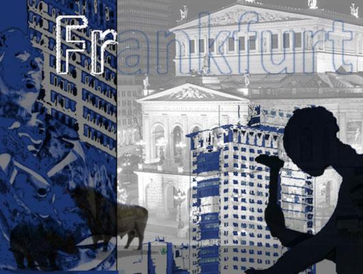 bearbeitete Foto-Collage, Druck auf LW, 40 x 50 cm