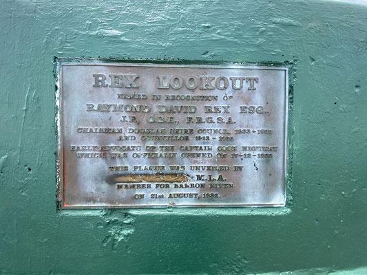 ... Rex Lookout, Wangetti ...