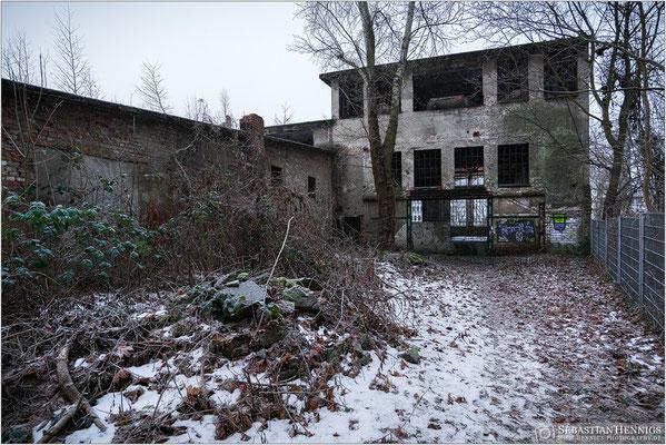 Ruine der alten Ostquellbrauerei
