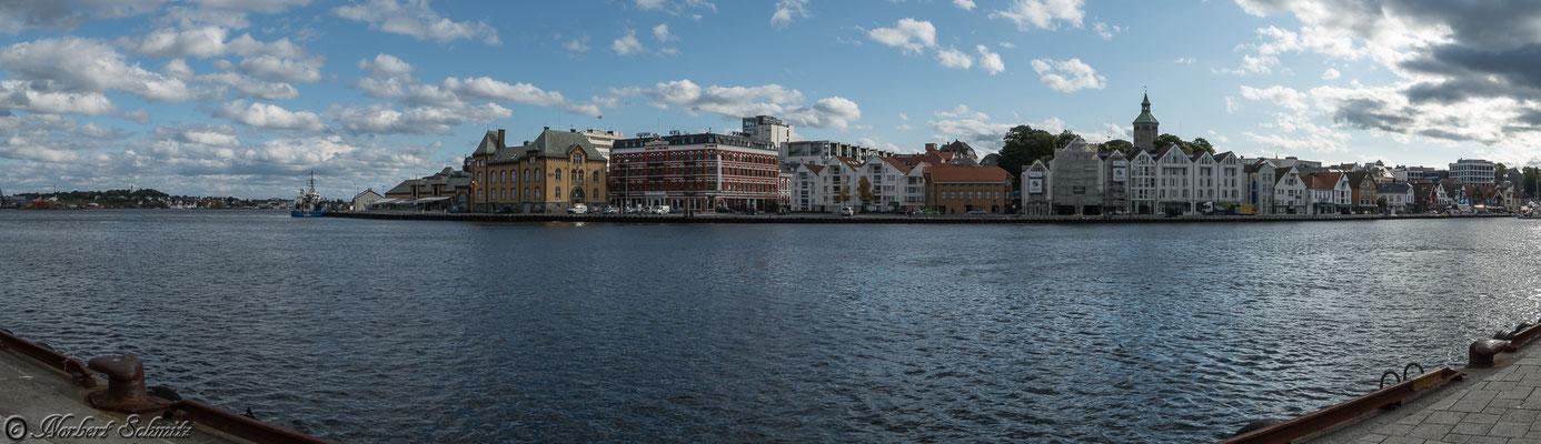 Stavanger Hafenansicht