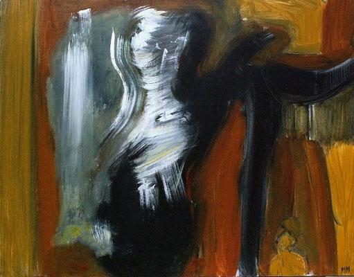 L'incantation - 65 x 50 - Acrylique sur toile - 2005