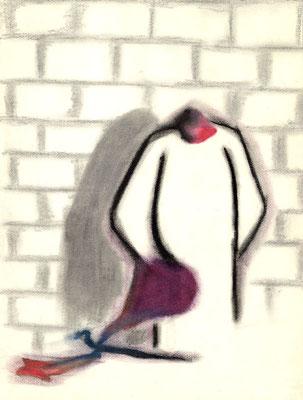 Sans titre - 21 x 29 - Pastel sur papier - 1984