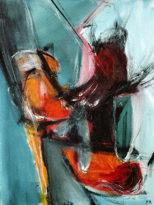 Sans titre - 46 x 61 - Acrylique sur toile - 2005