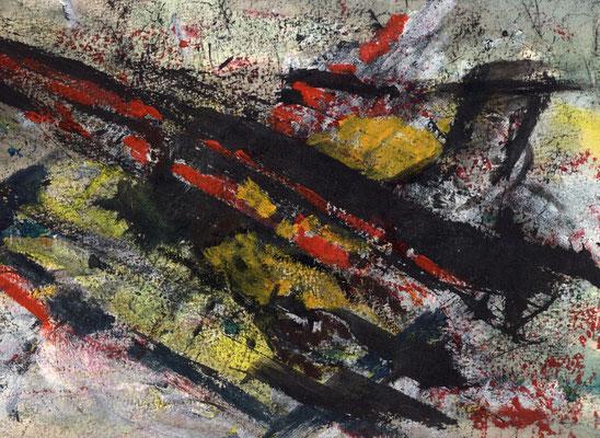Sans titre - 21 x 29 - Gouache sur papier - 1989