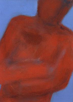 Sans titre - 22 x 33 - Acrylique sur toile - 1996