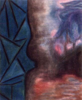 Sans titre - 45 x 55 - Pastel sur papier - 1984