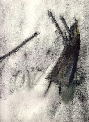 Sans titre - 21 x 29 - Gouache sur papier - 1985