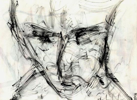 Sans titre - 21 x 29 - Encre sur papier - 1990