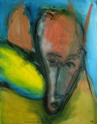 Sans titre - 50 x 65 - Acrylique sur toile - 2005