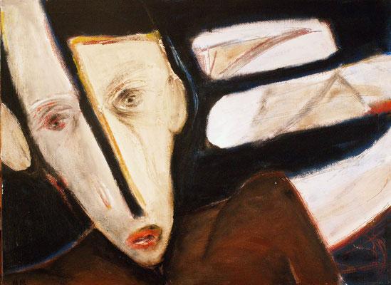 Sans titre - 73 x 54 - Acrylique sur toile - 2006