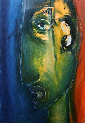 Sans titre - 38 x 55 - Huile sur toile - 2003
