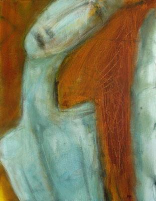 Excentrique - 50 x 65 - Acrylique sur toile - 2005