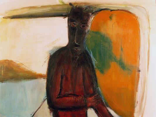 Sans titre - 80 x 60 - Acrylique sur toile - 2006