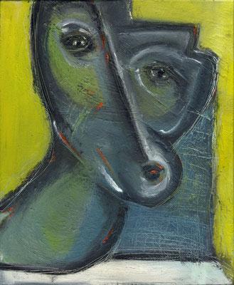 Sans titre - 38 x 46 - Huile sur toile - 2003