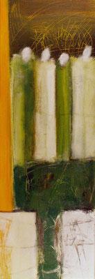 Sans titre - 30 x 90 - Acrylique sur toile - 2006