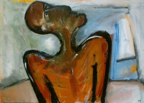 Sans titre - 70 x 50 - Acrylique sur toile - 2005